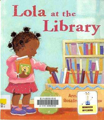 Lola at the library的圖片
